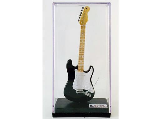 Miniatura de Guitarra Stratocaster - Preta (Acrílico) - 12 cm