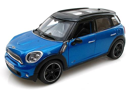 Mini Cooper: Countryman - Azul - 1:24
