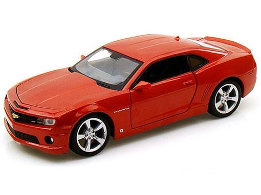 Chevrolet: Camaro SS RS (2010) - Laranja - 1:24