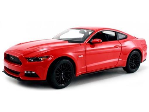 Ford: Mustang GT (2015) - Vermelho - 1:24 - Maisto