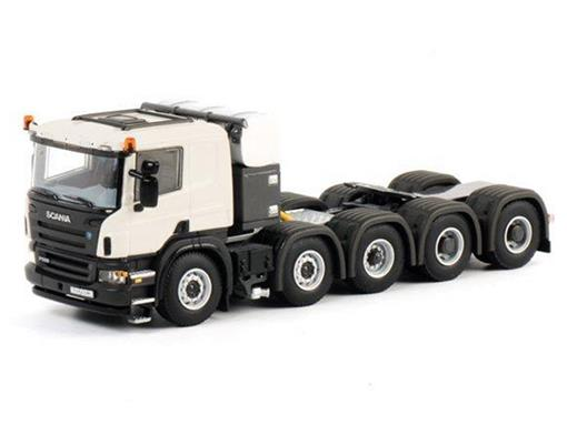 Scania: P 10x4 Voorloop As - Cavalo - 1:50 - WSI Models