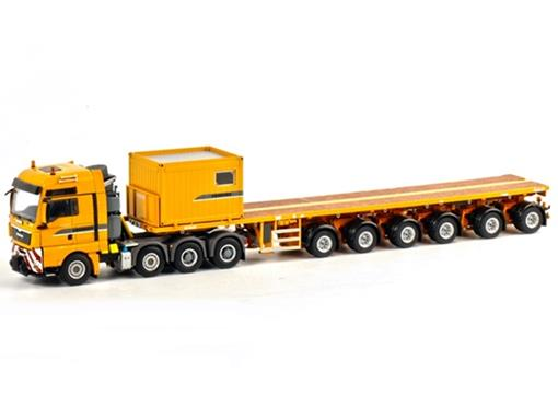 Man: TGX XXL 8x4 - Ballast Trailer - Premium Line - Nooteboom - 6 eixos - 1:50 - WSI
