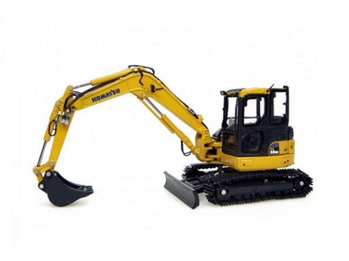 Komatsu: Escavadeira PC 88MR - 1:50 - Universal Hobbies