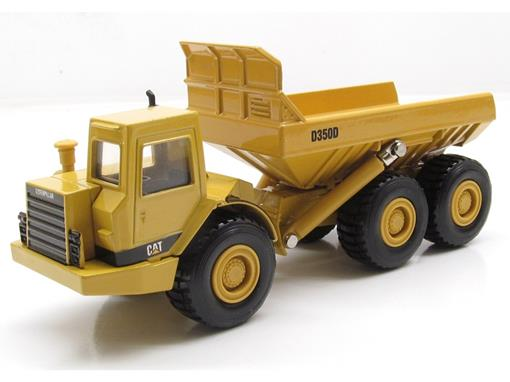 Caterpillar: Caminhão Articulado de Lixo D350D - 1:50 - ERTL