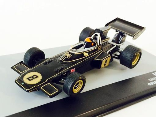 Lotus: 72D - Emerson Fittipaldi - Great Britain GP 1972 - 1:43 - Ixo