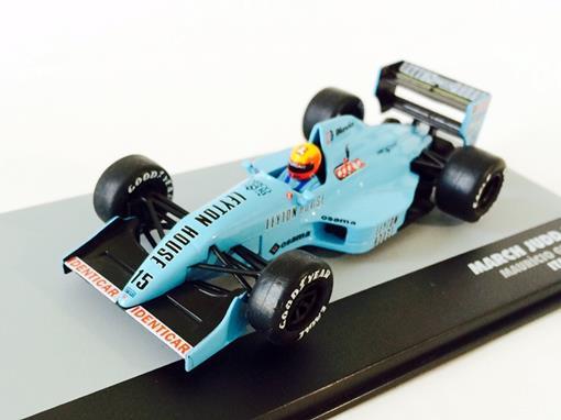March: Judd 881 - Maurício Gugelmin - Italy GP 1988 - 1:43 - Ixo