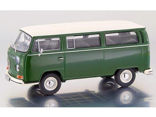 Volkswagen: Kombi T2a Bus L - Verde / Branco - 1:43 - Premium ClassiXXs