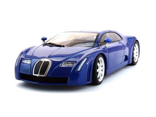 Bugatti: EB 18.3 Chiron - Azul - 1:43 - Autoart