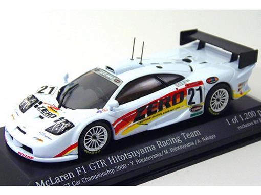 McLaren: F1 GTR - #21 Hitotsuyama Racing Team ( JGTC 2000) - 1:43 - Minichamps