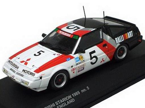 Mitsubishi: Starion Rallyart England (1985) - 1:43 - Kyosho