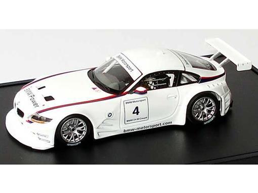 BMW: Z4 M Coupé - Race Version - 1:43 - Minichamps