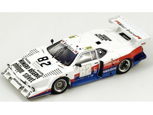 BMW: M1 - #82 Neve / Korten / Winkelhock - Le Mans 1980 - 1:43 - Spark