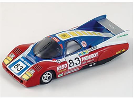 Peugeot: P81 Turbo #83 - Le Mans (1981) - 1:43 - Bizarre