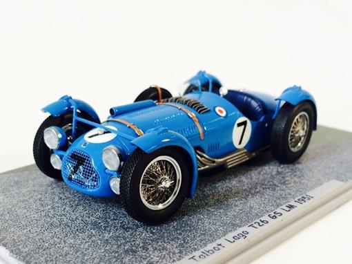 Talbot Lago: T26 GS #7 - Le Mans (1951) - 1:43 - Bizarre