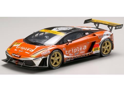 Lamborghini: Gallardo RG-3 Super GT300 (2007) - Triple a #66 - 1:43 - Ebbro