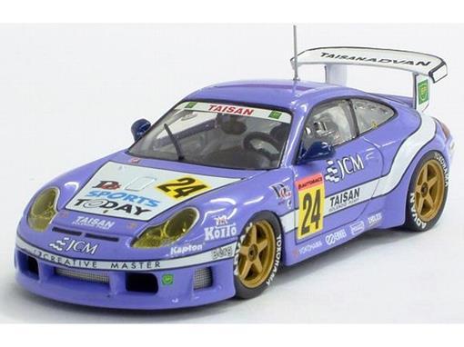 Porsche: 911 GT3R - JCM Taisan (2001) - 1:43 - Ebbro