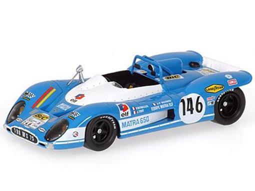 Matra: Simca MS650 #146 - Tour Auto (1970) - 1:43 - Bizarre