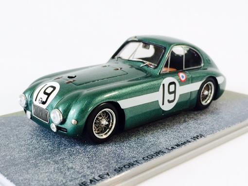 Healey: Sport Coupe #19 - Le Mans (1951) - 1:43 - Bizarre