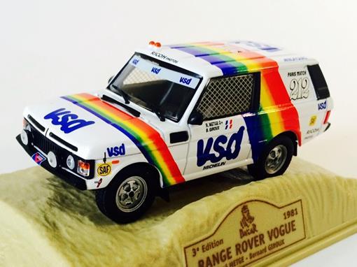 Range Rover: Vogue #212 (1981) - Dakar 3 Edition - 1:43 - Norev
