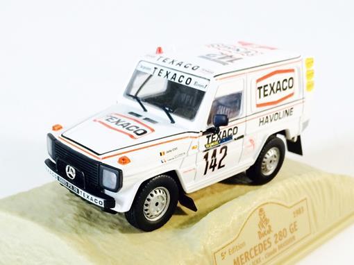 Mercedes Benz: 280 GE #142 (1983) - Dakar 5 Edition - 1:43 - Norev