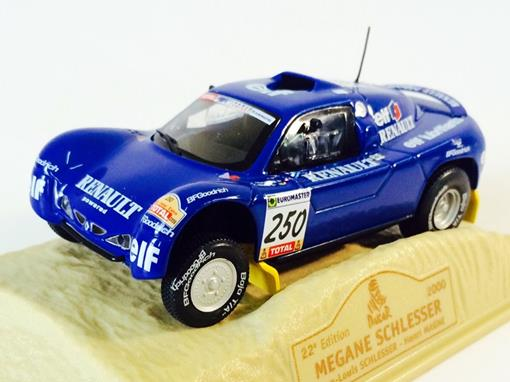 Renault: Megane Schlesser #250 (2000) - Dakar 22 Edition - 1:43 - Norev