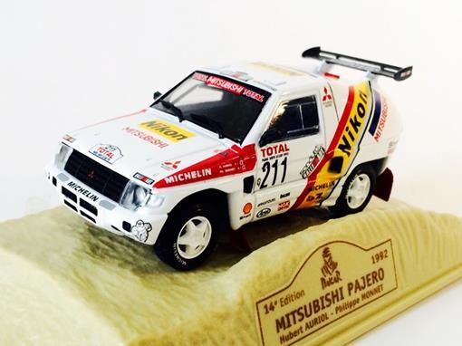 Mitsubishi: Pajero #211 (1992) - Dakar 14 Edition - 1:43 - Norev