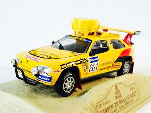Citroen: ZX Rallye Raid #201 (1991) - Dakar 13 Edition - 1:43 - Norev