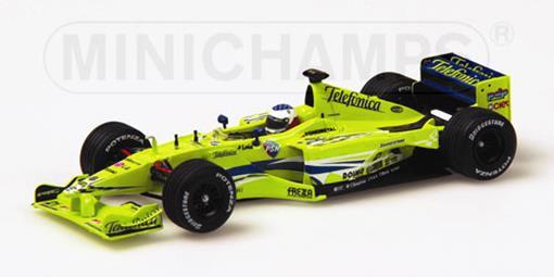 Minardi: Fondmetal M02 - G. Mazzacane (2000) - 1:43 - Minichamps