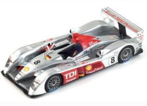 Audi: R10 TDI #8 - Winner Le Mans (2006) - 1:24 - Le Mans Miniatures