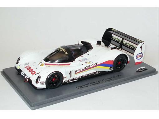 Peugeot: 905 EVO - 1 Bis #1 Winner LM (1992) - 1:24 - Le Mans Miniatures