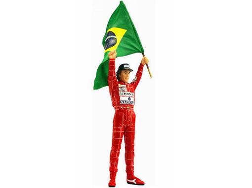Estátua Ayrton Senna - Brazilian GP 1991 - 1:18