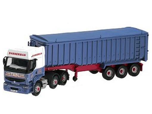 Renault: Premium Bulk Tipper - Bannerman Transport Tain - 1:50 - Corgi