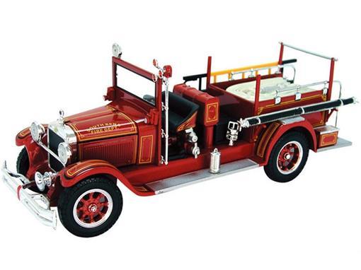 Studebaker: Fire Truck (1928) - South Bend Fire Dept - 1:32 - Signature Models