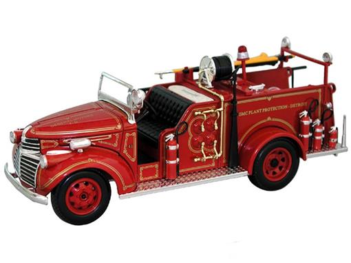 GMC: Fire Truck (1941) - General Motors F.D. - 1:32 - Signature Models