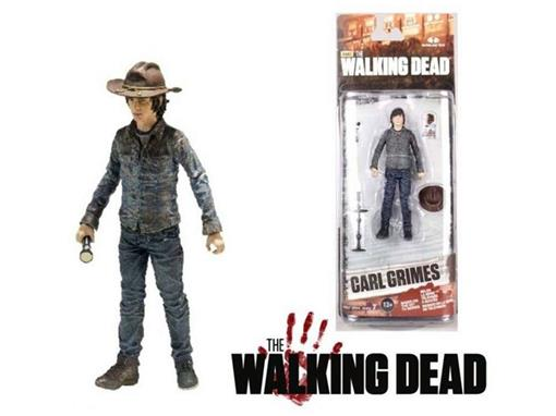 Boneco Carl Grimes - The Walking Dead - Série 7 - McFarlane Toys