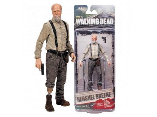 Boneco Hershel Greene - The Walking Dead - Série 6 - McFarlane Toys