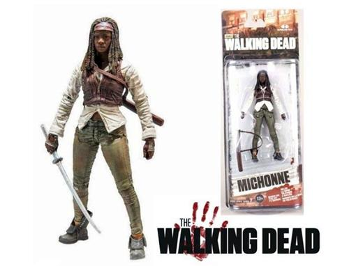 Boneco Michonne - The Walking Dead - Série 7 - McFarlane Toys