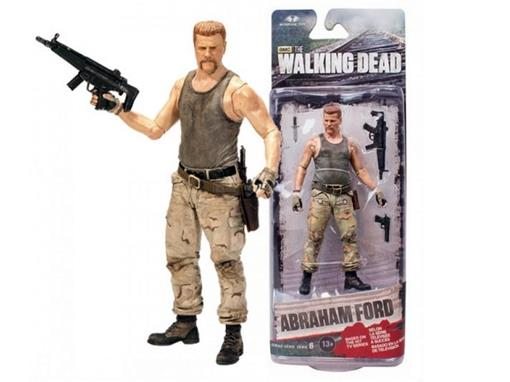 Boneco Abraham Ford - The Walking Dead - Série 6 - McFarlane Toys
