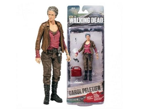 Boneco Carol Peletier - The Walking Dead - Série 6 - McFarlane Toys