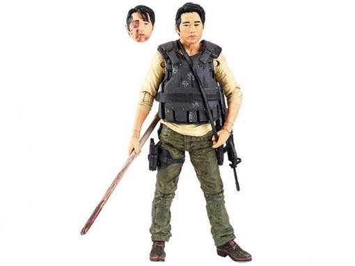 Boneco Glenn Rhee - The Walking Dead - Série 5 - McFarlane Toys