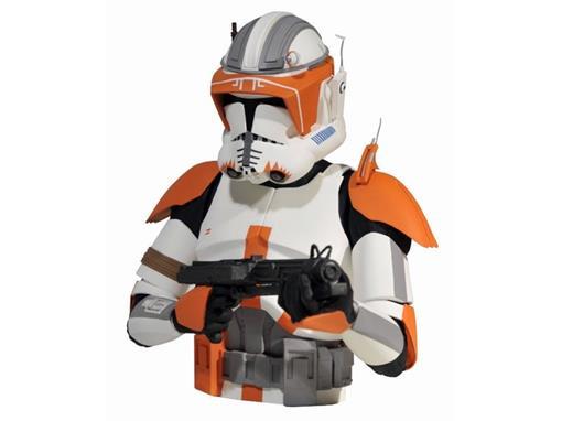 Star Wars - Commander Cody Trooper - Clone Wars - Cofre de Moedas - Diamond