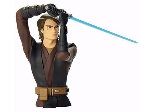 Star Wars - Anakin Skywalker - Clone Wars - Cofre de Moedas - Diamond