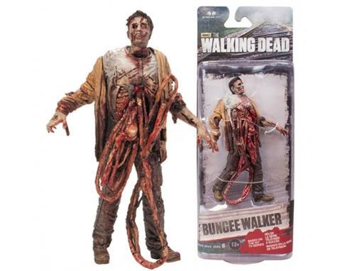Boneco Bungee Walker - The Walking Dead - Série 6 - McFarlane Toys