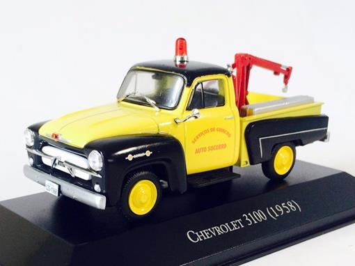 Chevrolet: 3100 Pickup (1958) - Auto Socorro - 1:43 - Ixo