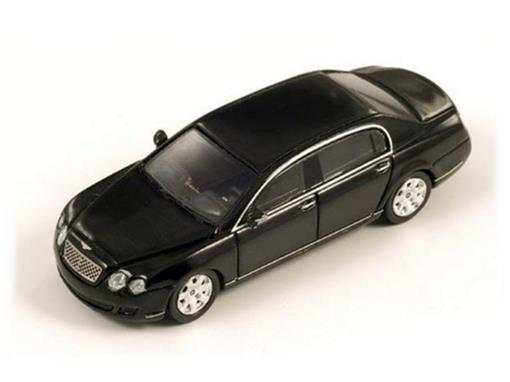 Bentley: Continental Flying Spur - Preto - HO - Spark