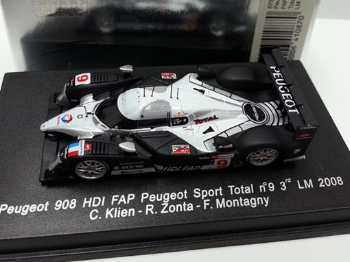 Peugeot: 908 HDI FAP - #9 LM (2008) - HO - Spark