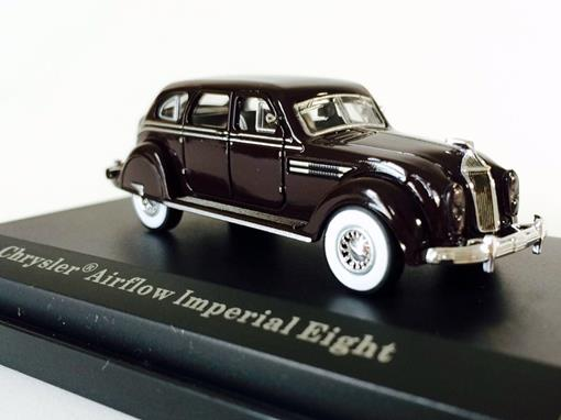 Chrysler: Airflow Imperial Eight - Marrom - HO - Busch