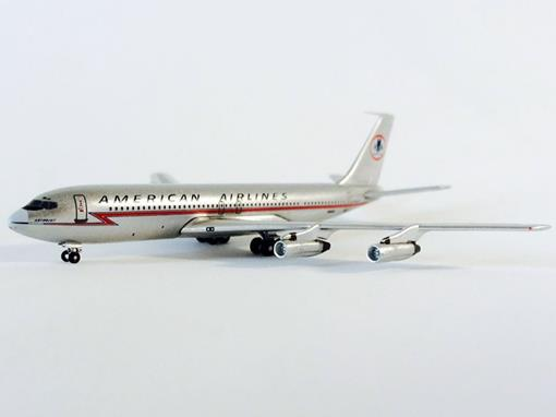 American Airlines: Boeing 707-300 - 1:500 - Inflight
