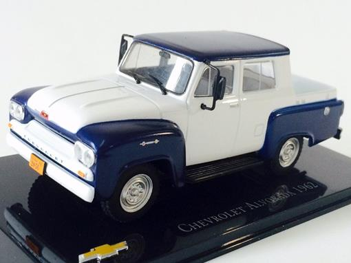 Chevrolet: Alvorada (1962) - Azul e Branco - 1:43 - Ixo