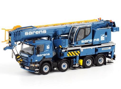 Scania: Liebherr Guindaste LTF 1060-4.1 -